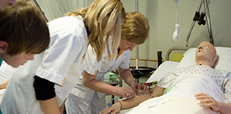 Verpleegkundige voor één dag