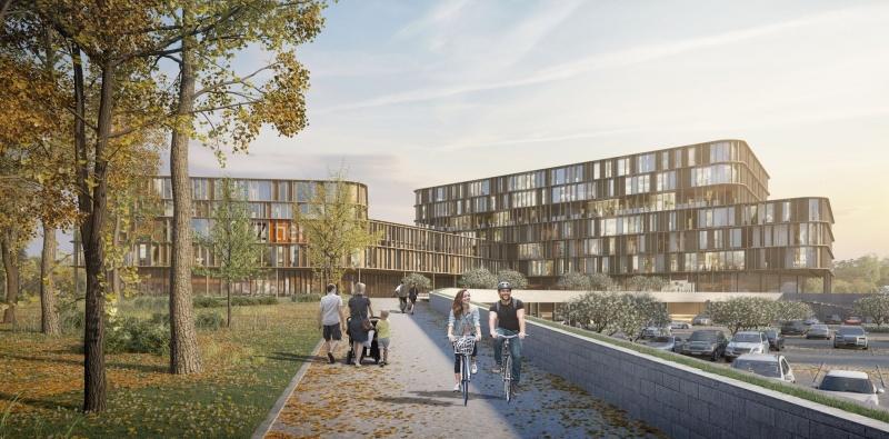 Nieuwsbericht: verwerving bouwgronden en aanstelling architectenbureau